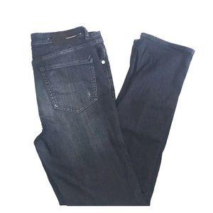 BLK DNM high waisted straight jean